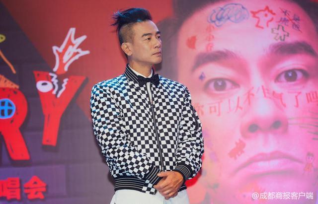 陈小春巡演成都首唱 坦言演唱会名字灵感来源于儿子